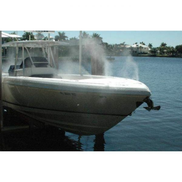 high-pressure-misting-system on boat